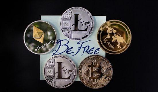 Freiheit für eigenes Kapital durch Kryptowährungen