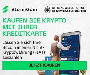 Kryptobörse StormGain