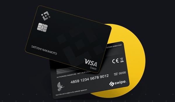 Bezahlen mit Binance Card und Kryptowährungen